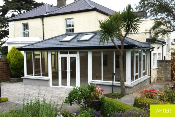 After - Sunroom in Malahide - Dublin