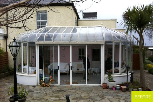 Before - Sunroom in Malahide - Dublin