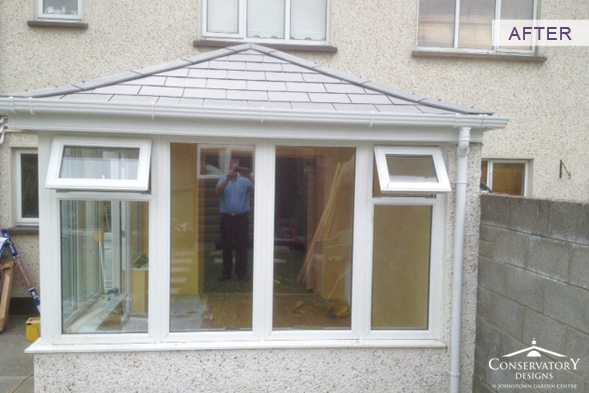Conservatory Designs - Conservatory Refurbishment - Burke After