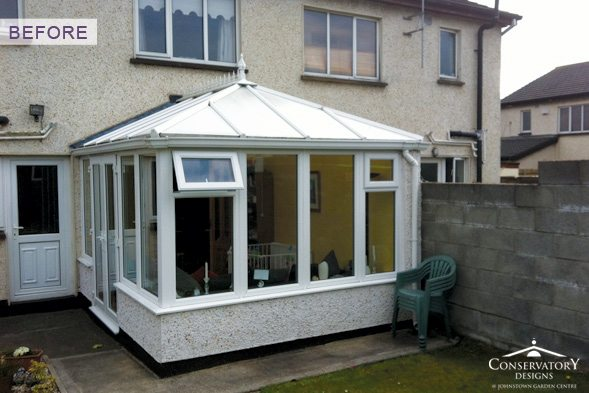 Conservatory Designs - Conservatory Refurbishment - Burke Before