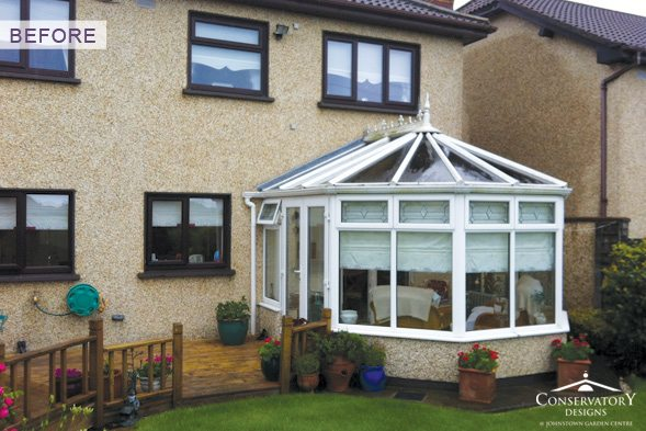 Conservatory Designs - Conservatory Refurbishment - O'Briens Before