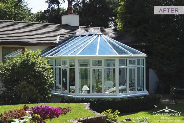 Conservatory Designs - Conservatory Refurbishment - Round After