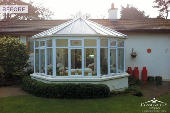 Conservatory Designs - Conservatory Refurbishment - Round Before