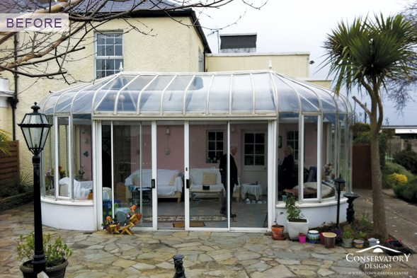 Conservatory Designs - Conservatory Refurbishment - Ryan Before