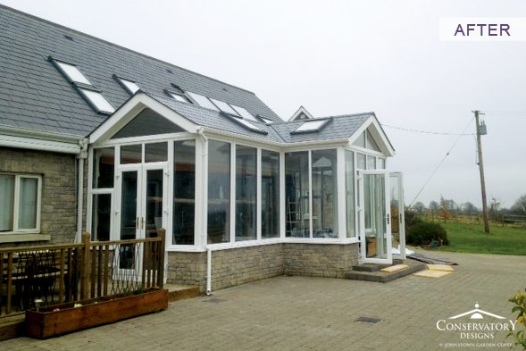 Conservatory Designs - Conservatory Refurbishment - Tyrell After