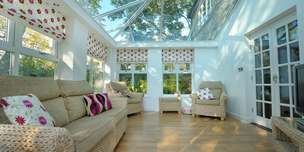 Mid rail Opening Conservatory Windows