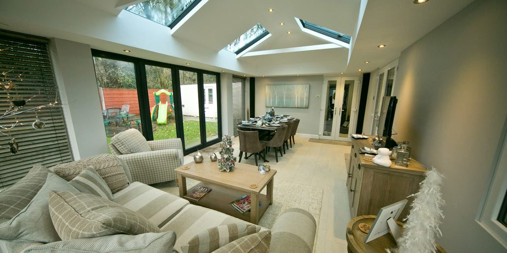 Sunroom Living Room - Dublin - Conservatories Designs