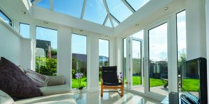 Conservatory Double Doors and Side Screens