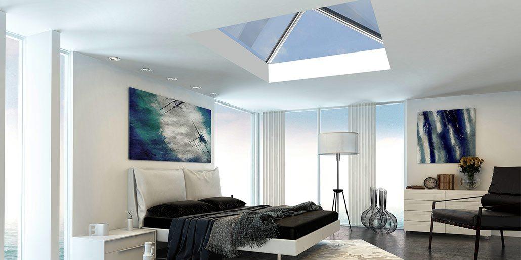 Bedroom Design - Ultrawarm Skylight