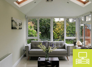 Case Studies - TV Room - Brightspace at Conservatories
