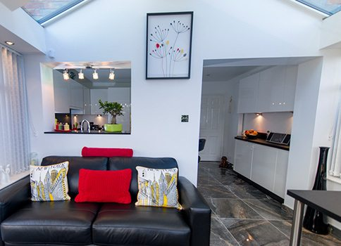 Kitchen - Case Study - Brightspace at Conservatory Designs