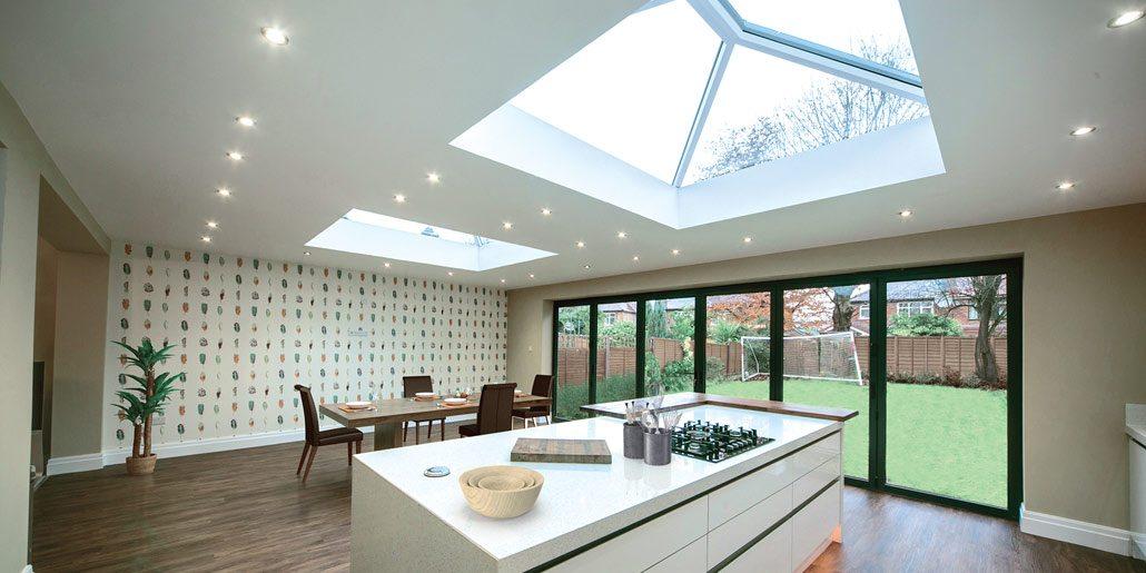 Kitchen Design - Ultrawarm Skylight