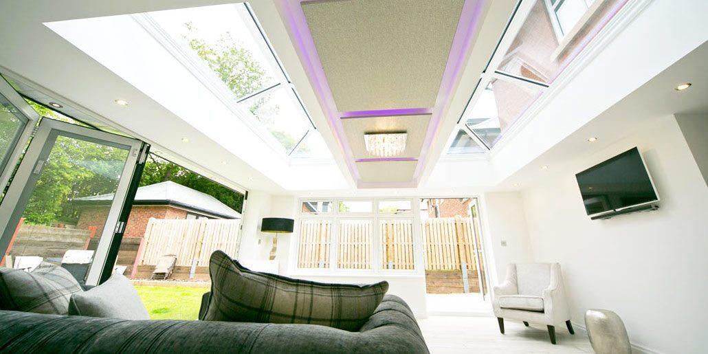 Living Room Design - Ultrawarm Skylight