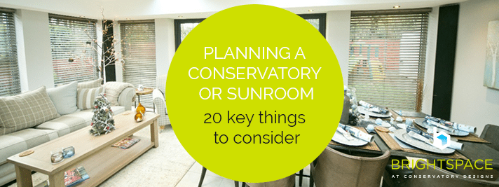 Planning a Conservatory or Sunroom