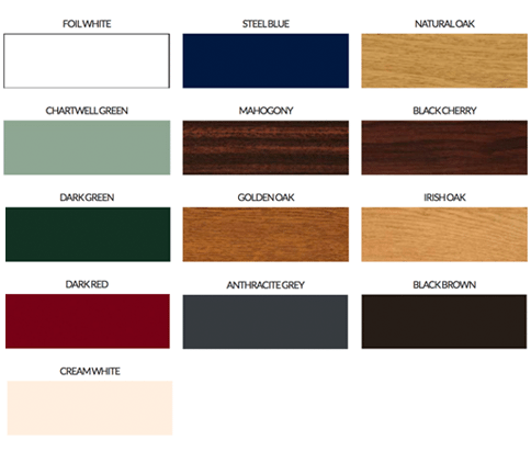 Range Colour Windows and Doors
