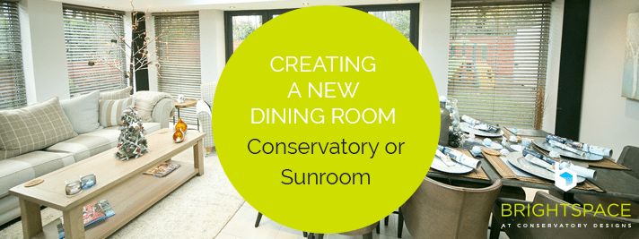 Creating a New Dining Room - Conservatory or Sunroom