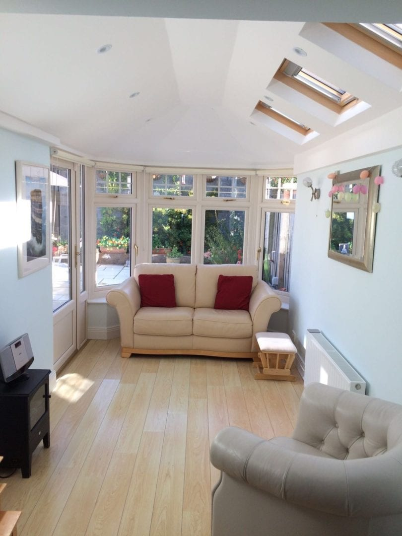 Sunroom Kitchen Extension