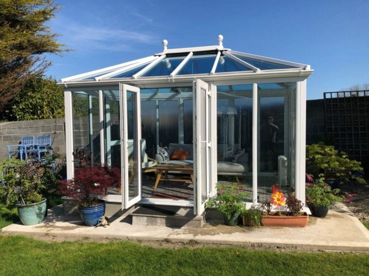 Conservatory Double Doors