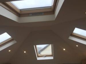 Roof Windows On Each Elevation