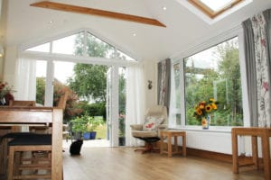 Gable Front Brightspace Sunroom Roof