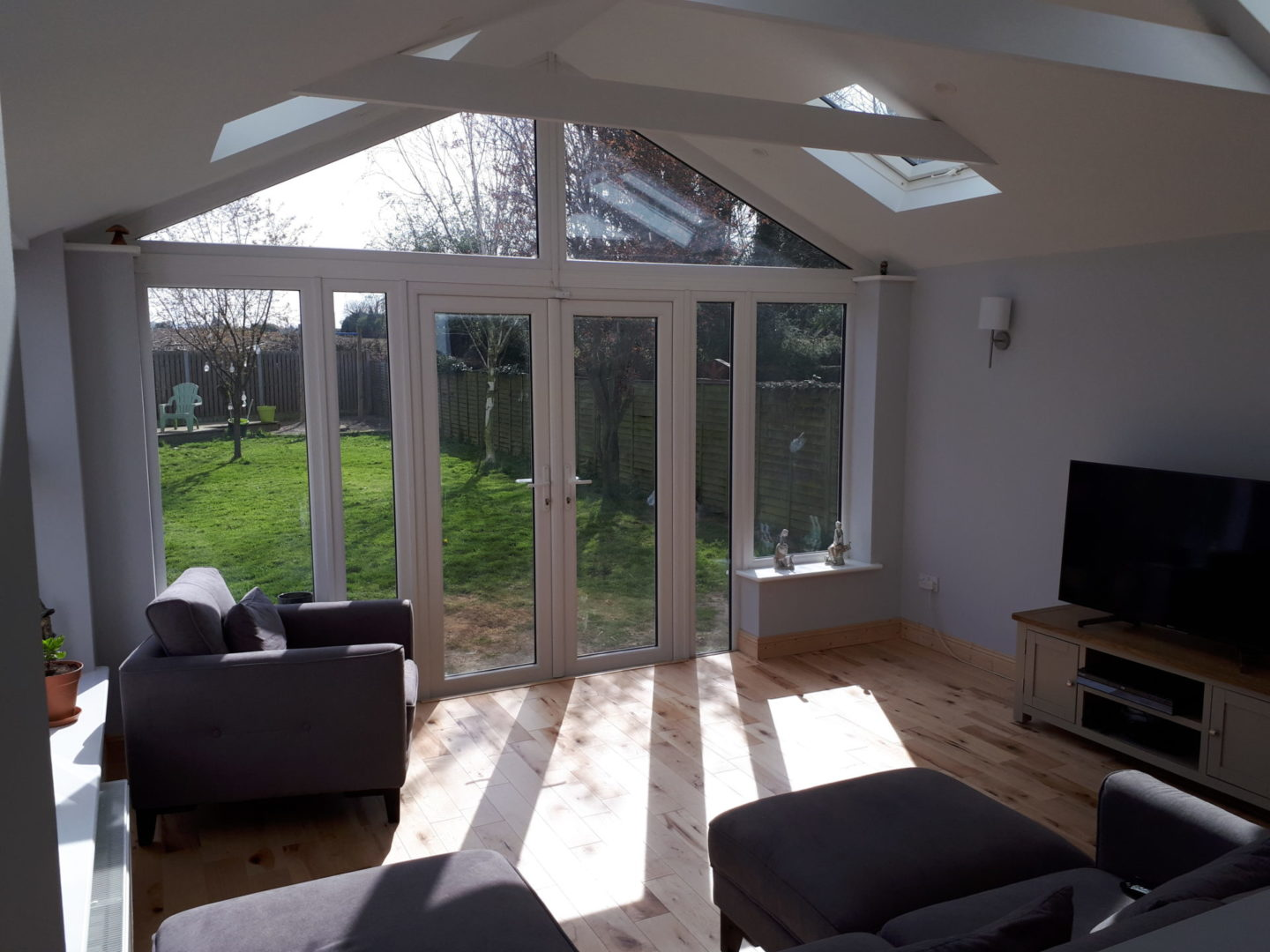 Brightspace Sunroom Full Height Glazing