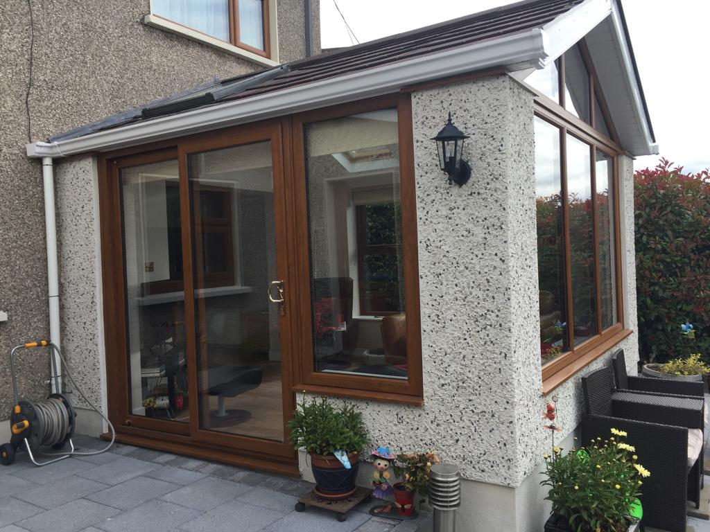 Gable Sunroom Sliding Door
