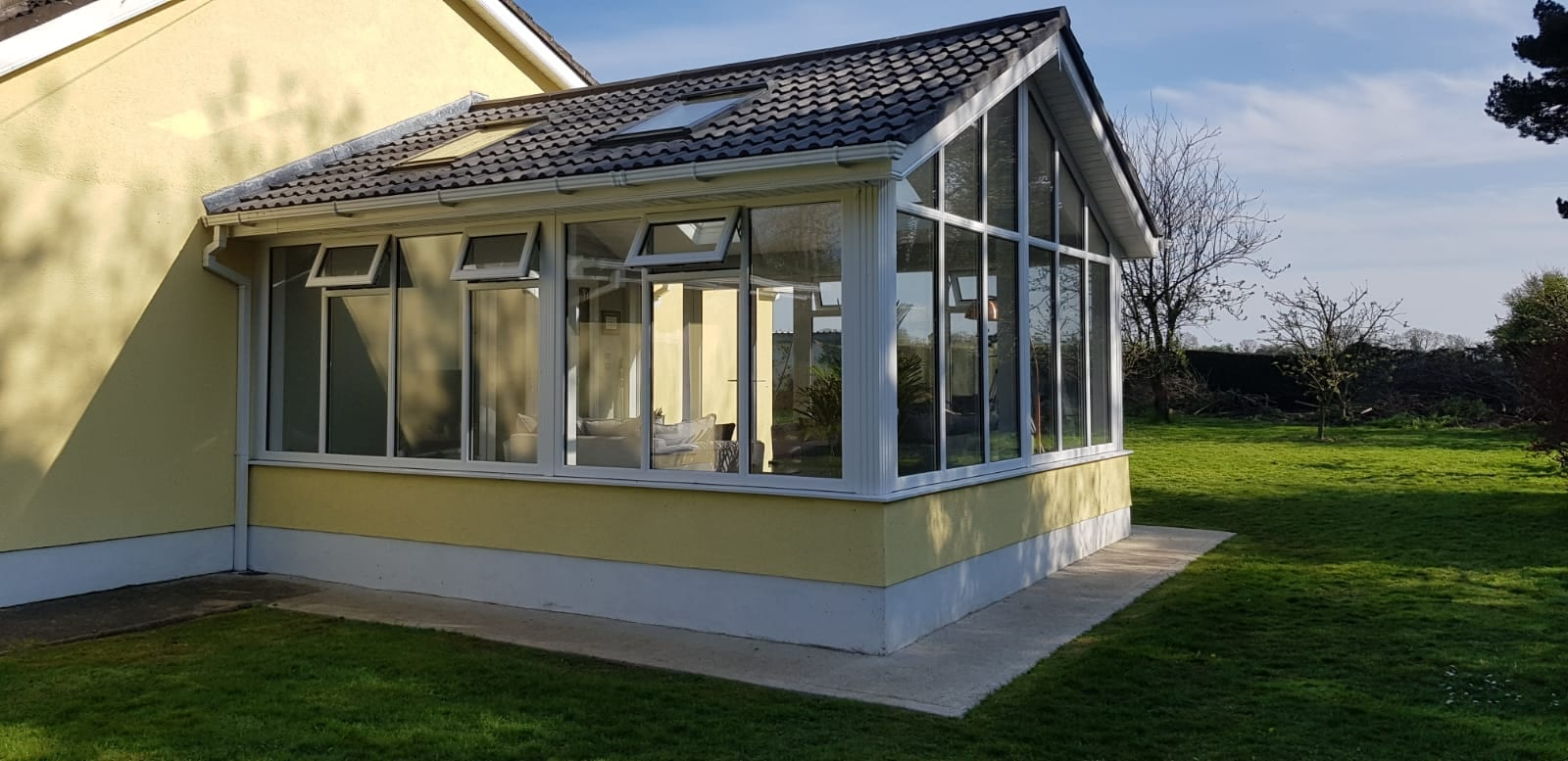 Gable Front Brightspace Sunroom