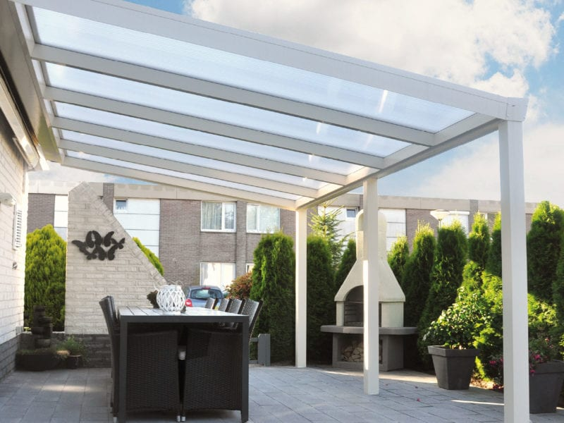 Vesta Veranda with glass roof
