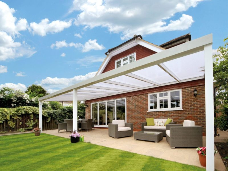 Brightspace Veranda with polycarbonate roof